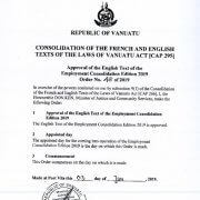 Employment Act amendments