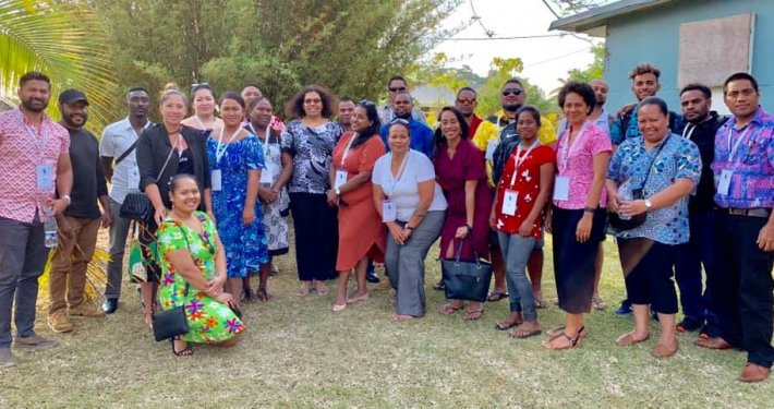 Visitors from across the Pacific at VCCI