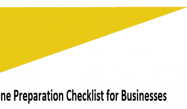 Cyclone Preparation Checklist for Businesses